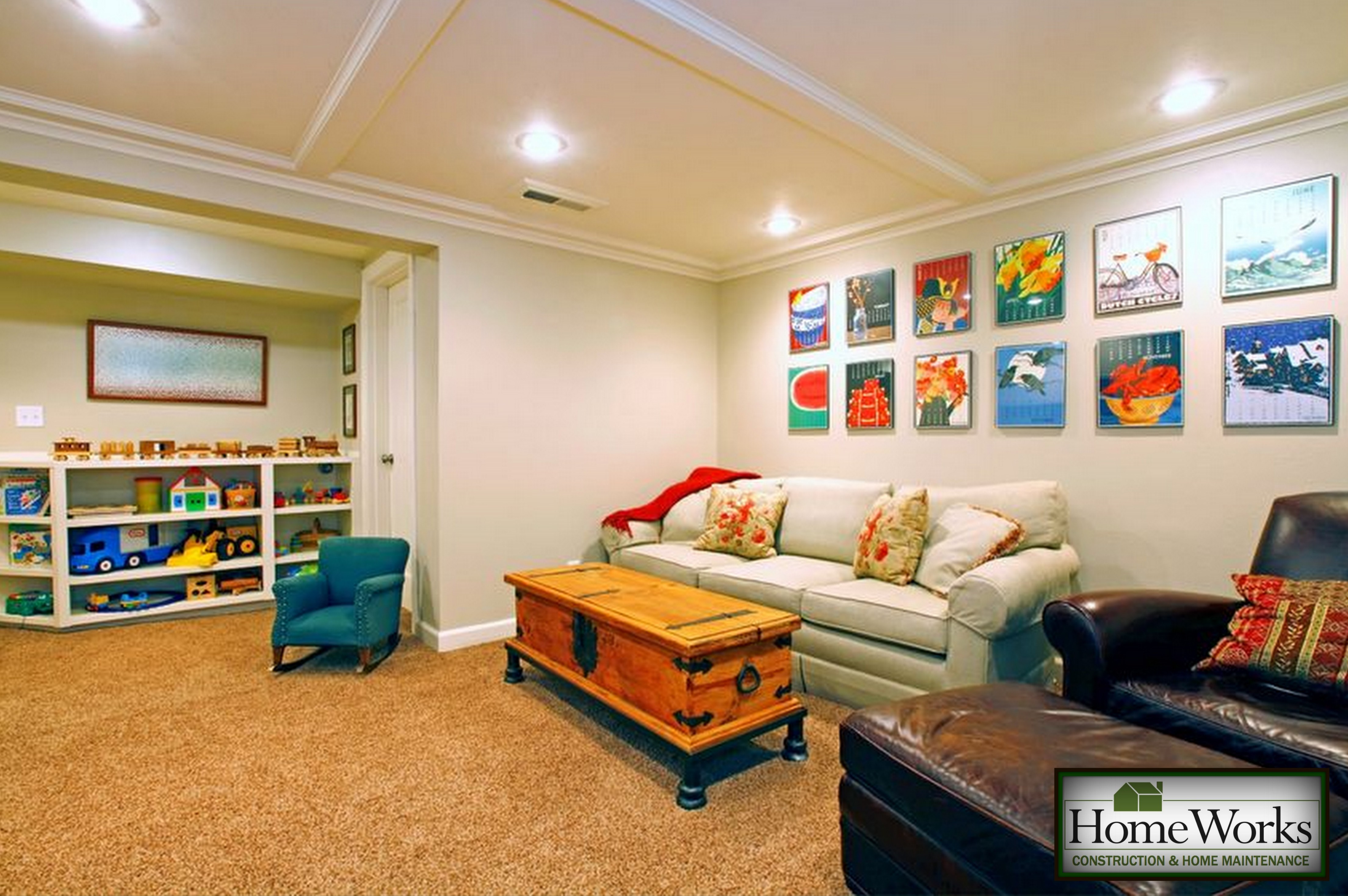 Homeworks Basement Remodeling Specialsts. Alluring Converting A Garage Into  Room 28 Wonderful How ...