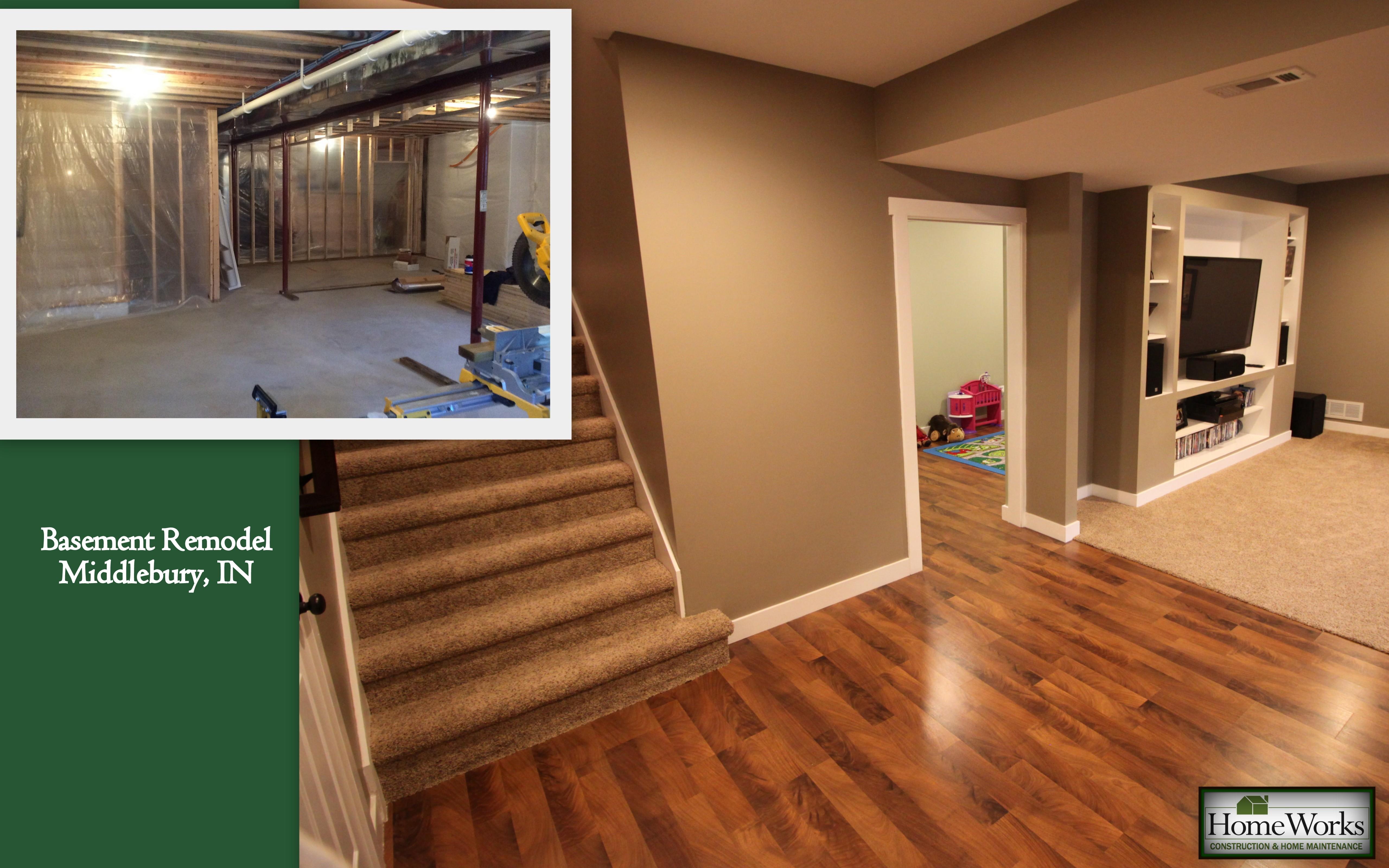 HomeWorks Basement Remodel