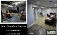 <h5>South Bend Basement Remodel</h5>