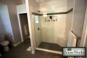 <h5>New Bathroom - Customer Shower</h5><p>New Bathroom - Customer Shower</p>