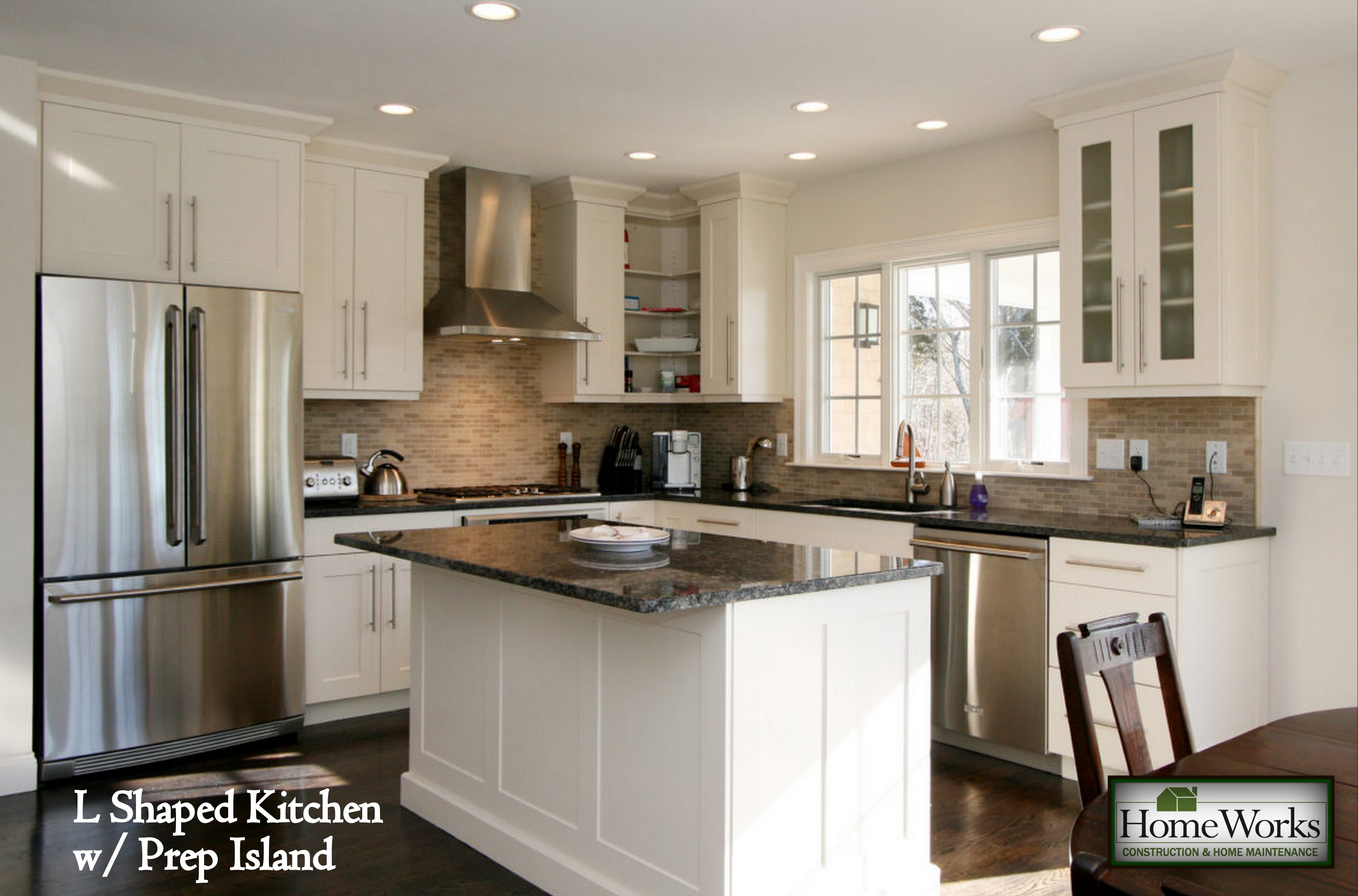 L-shaped-kitchen